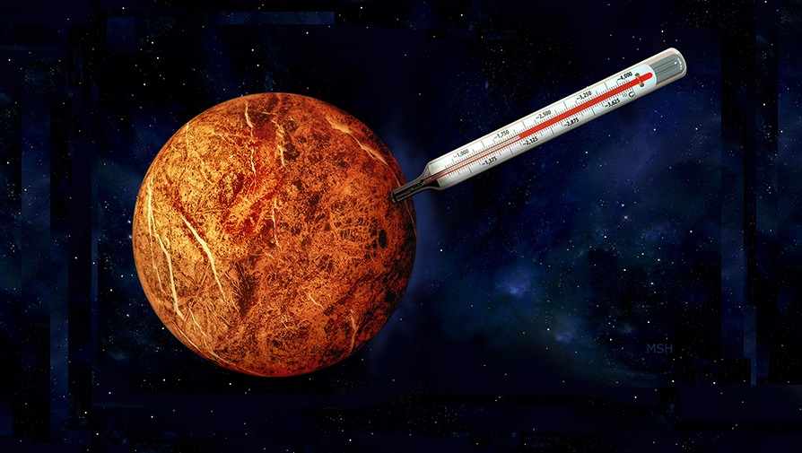 Avaruus lämpötila